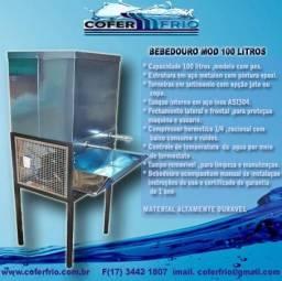 Bebedouro industrial inox 100 litros