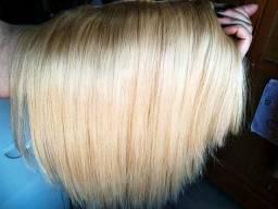 Mega hair tictac loiro cabelo humano passo cartão