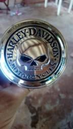 Tampa bucal bocal tanque de gasolina HD Harley Davidson skill cabeira