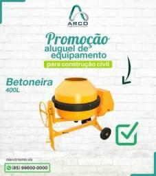 Aluguel Betoneira Promoção