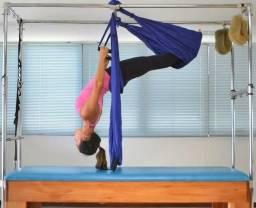 Pilates Columpio azul escuro