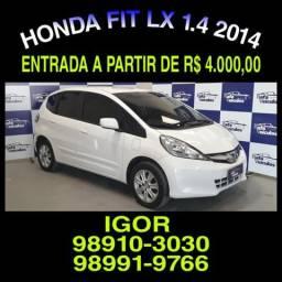 IMBATIVEL! Honda Fit LX 1.4 Flex 2014, falar com Igor jjk - 2014