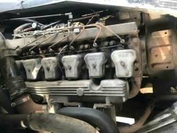 Vendo motor mwm 240 e pecas man e caxia de cambio central