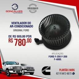 VENTILADOR DO AR-CONDICIONADO ORIGINAL FORD F-250 F-350 F-4000