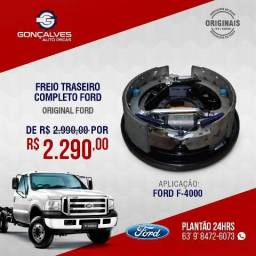 FREIO TRASEIRO COMPLETO ORIGINAL FORD F-4000