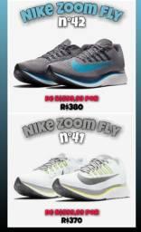 Tênis Nike Zoom Fly e outros a partir de