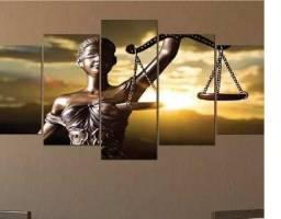 Vende-se Quadro decorativo Deusa da Justiça