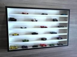 Prateleira Estante para Carrinhos Hot Wheels e Coleções