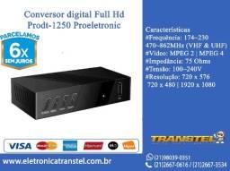 Conversor Digital Full Hd Prodt-1250 Proeletronic