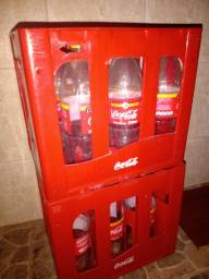 Caixa engradado coca cola reciclavel