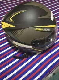 Vendo capacete semi novo 100 reais