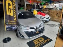 Título do anúncio: Toyota Yaris Xl 1.5 Sedan 2019 Ent: R$5.000 + R$2.099 Fixas