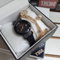 Relógio Feminino Dior Preto