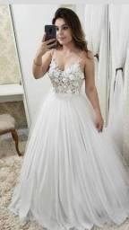Vestido Noiva Civil Cartório Casamento Pre Wedding