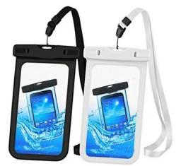 Título do anúncio: Capinhas Capa De Celular À Prova D'água Proteção Impermeável Mergulhos Aquáticas Chuva