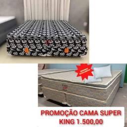 Título do anúncio: /// Cama super king // Entrega Grátis ///