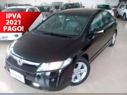 Civic Sedan LXS 1.8/1.8 Flex 16V Aut. 4p Bco e