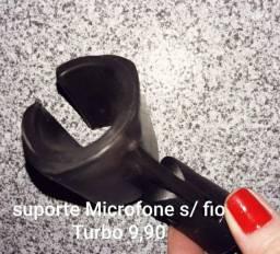 Suporte Microfone s/ fio Turbo