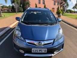 Honda Fit Twist Azul Automático 2013/2013 Todas Revisões Concessionária