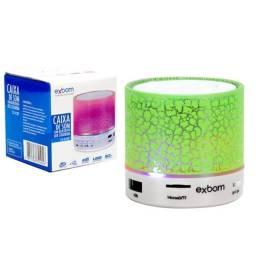 Título do anúncio: Caixa De Som Bluetooth Com Led Rgb  Exbom R$ 50,00 (Nova)