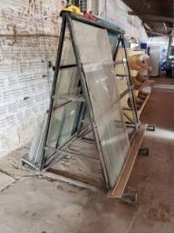 Cavalete para Vidros Usado