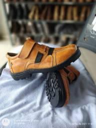 Sapatênis COURO Estilo boot