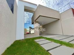 Jardim Ipê -  Casa nova com 3 Quartos (1 suíte)