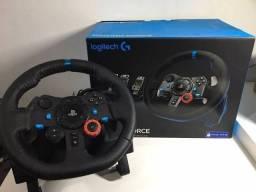 Volante g29 logitech PS4/Pc novo na caixa