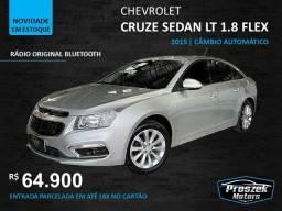 Título do anúncio: Chevrolet Cruze Sedan LT 1.8 Flex - Ano 2015 Automático