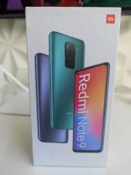 Oba! REDMI Note 9 da Xiaomi..Novo LACRADO Garantia entrega em mãos!