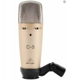 Microfone Condensador C-3 - Behringer
