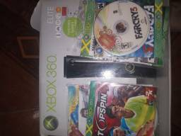 Xbox 360 elite, 120 gb desbloqueado