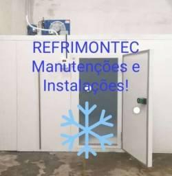 RefriMontec Câmaras Frigorificas Manutenções e Instalações