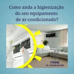 Limpeza e higienização de aparelhos de ar-condicionado