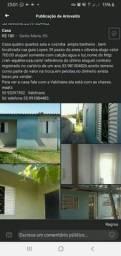 Título do anúncio: Vendo casa em sta maria rs.Aceito  casa em Pelotas