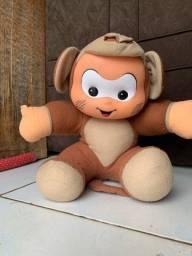 Cascão vestido de macaco