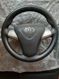 Título do anúncio: Volante do etios com airbag (original).