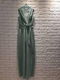 Macacão pantalona tamanho P marca Latoya