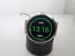 Smartwatch Moto 360 em excelente estado