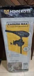 Motor de popa pesca  elétrico Minn kota endura max 50lb novo