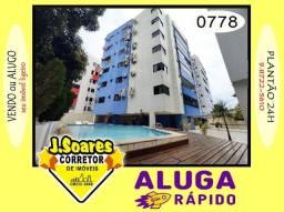 Título do anúncio: Cabo Branco, Frente p/ Mar, 3 suítes, 200m², R$ 4100, Aluguel, Apartamento, João Pessoa