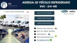 Agregamos veículos refrigerado Vuc - 3/4 Interior