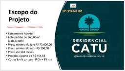 Loteamento aberto - Catu-