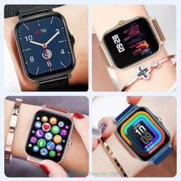 Smartwatch Colmi P8 Plus Original + Brinde Lacrado A Pronta Entrega
