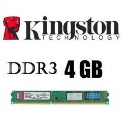 Memória Kingston DDR3 4GB 1333MHz para pc produto semi-novo