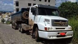 Caminhão 1634 trucado 2011 conjunto completo