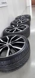 Baixei!Rodas aro 20 do Audi R8 sem detalhes e pneus novos