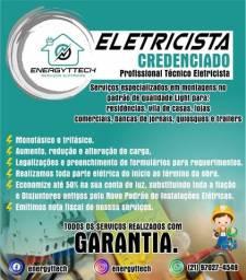 Eletricista p/ Construção Nova ou reforma Instalação de toda parte elétrica ou troca