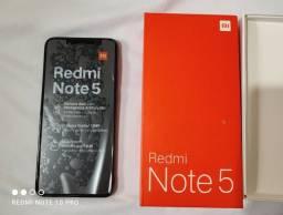 Título do anúncio: Redmi note 5 Black 4gb ram 64gb ROM