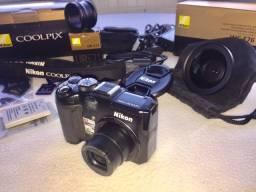 Nikon Coolpix P6000 + G Ang